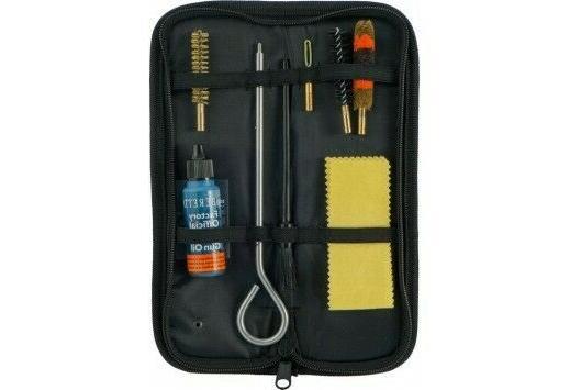 cleaning kit 22 handgun w field pouch