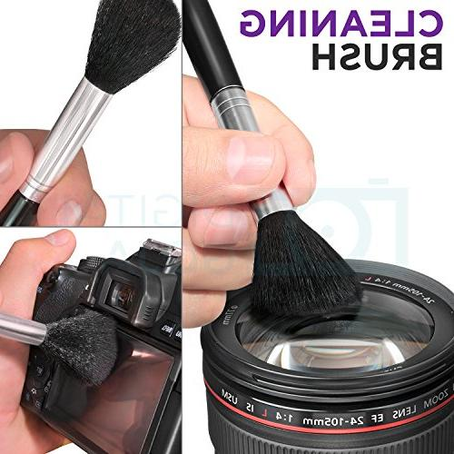 Kit for DSLR and with Spray Lens Cleaner