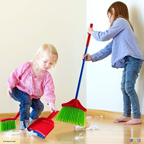 Play22 Cleaning Set Cleaning Set Mop, Dust Duster, Sponge, Bucket, Caution Toy Set