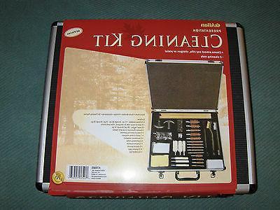 deluxe gun cleaning kit aluminum