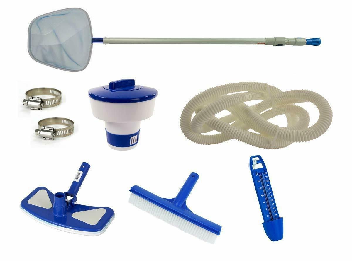 Swim N Play Deluxe Pool Cleaning Maintenance Kit for Above G