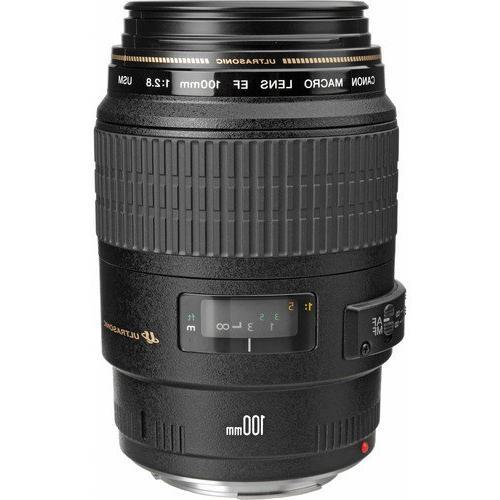 Canon and Kit Rebel T5 DSLR IS Lens w/ Canon 100mm Macro Lens, Canon MR-14EX Macro Ring Lite,