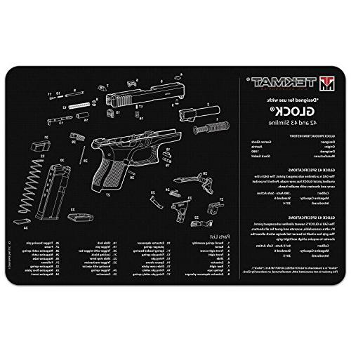 Ultimate Gear 42 43 Armorer's Work Pistol Handgun Gun + Cleaning Kit Brushes, and