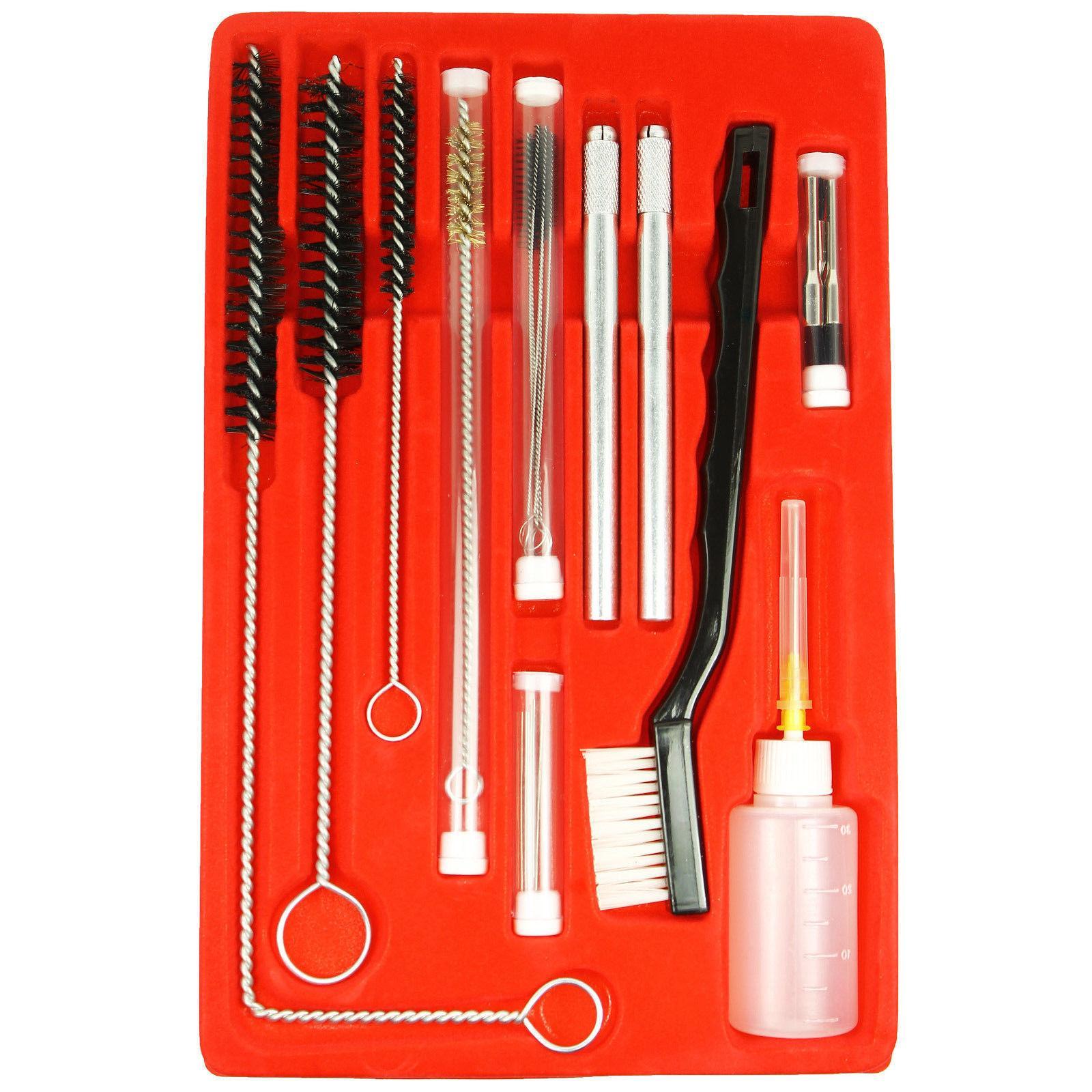 Gun Cleaning Kit 23pcs Airbrush Air Spray Gravity Paint Mini