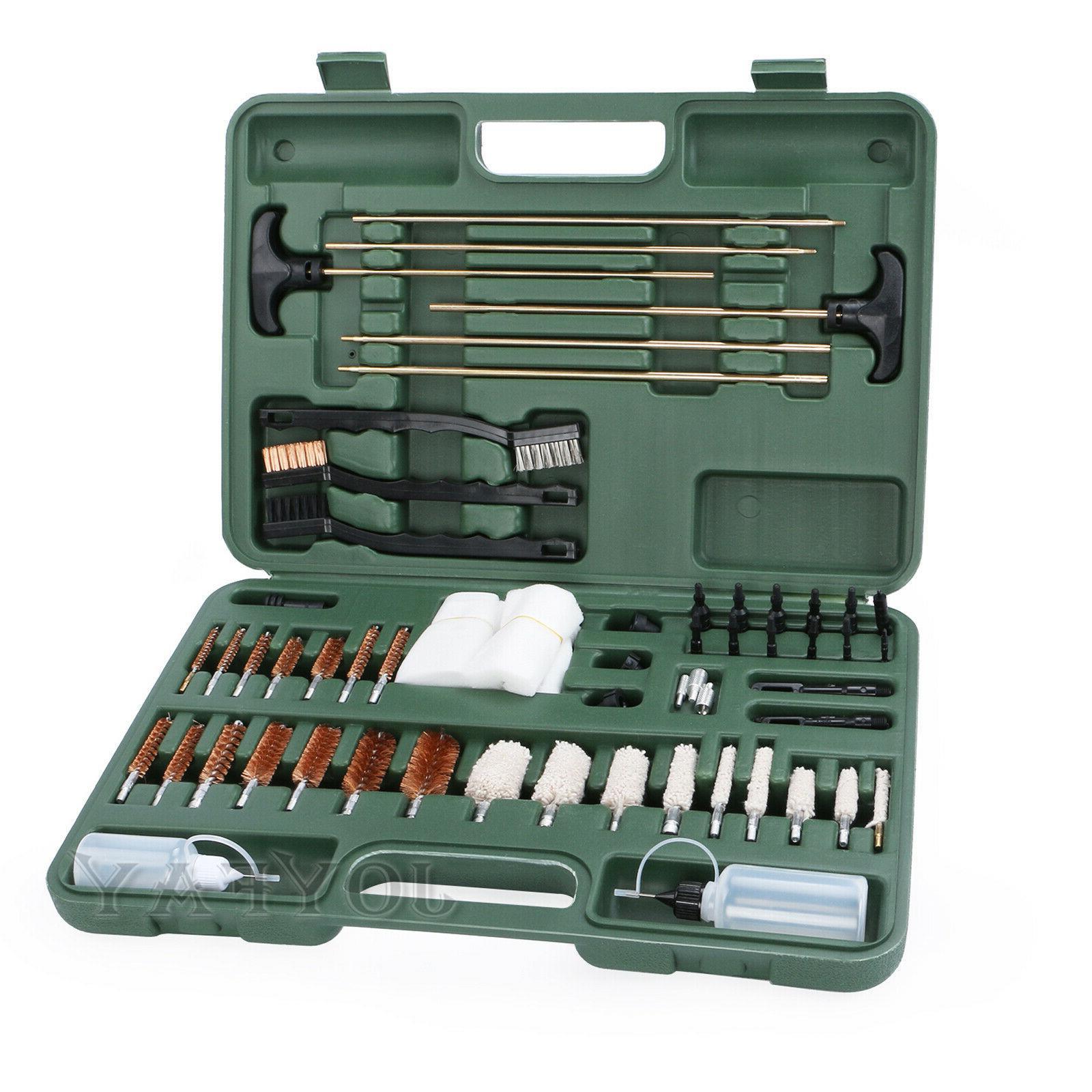 Gun Cleaning Kit Brush Cloth all 9mm 163PCS Supplies