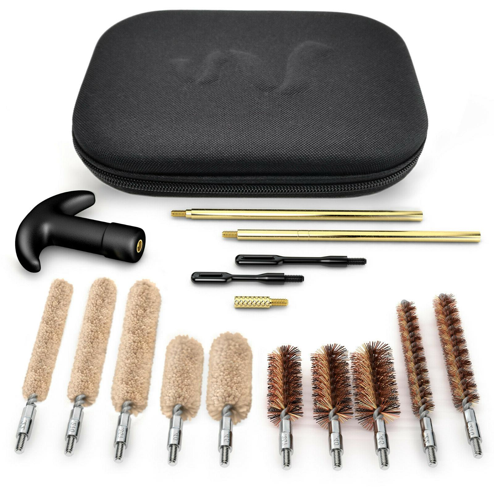 gun cleaning kit universal rifle pistol shotgun