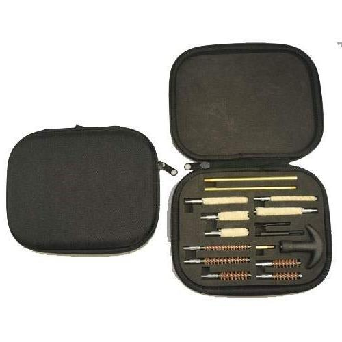 Ultimate Arms Gun P-938 Cleaning Kit Case .22/.357/.38/9mm/.44/.45 Tray