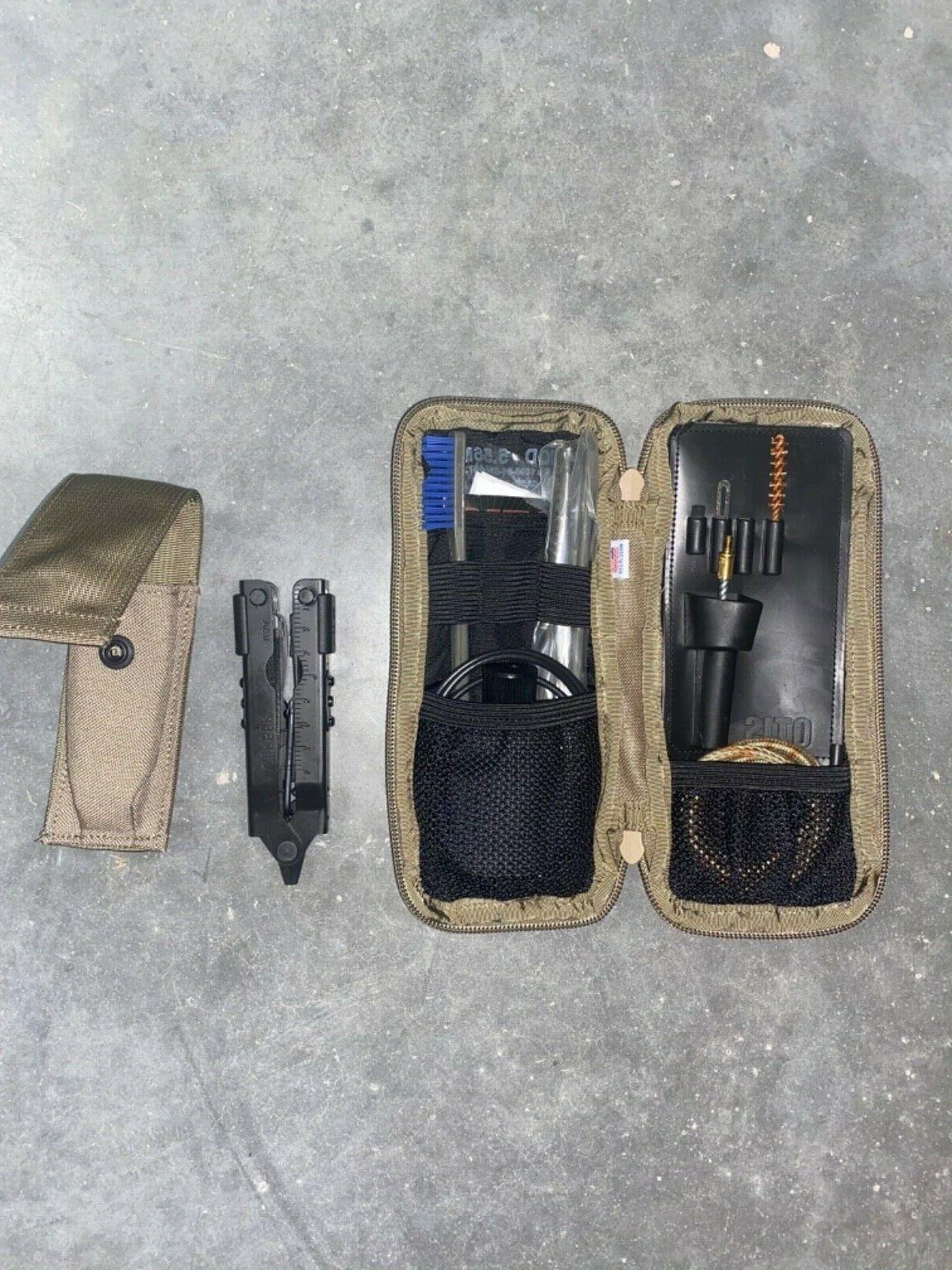 NEW Cleaning Coyote Pouch   OTIS I MOD 5.56mm +multi-tool