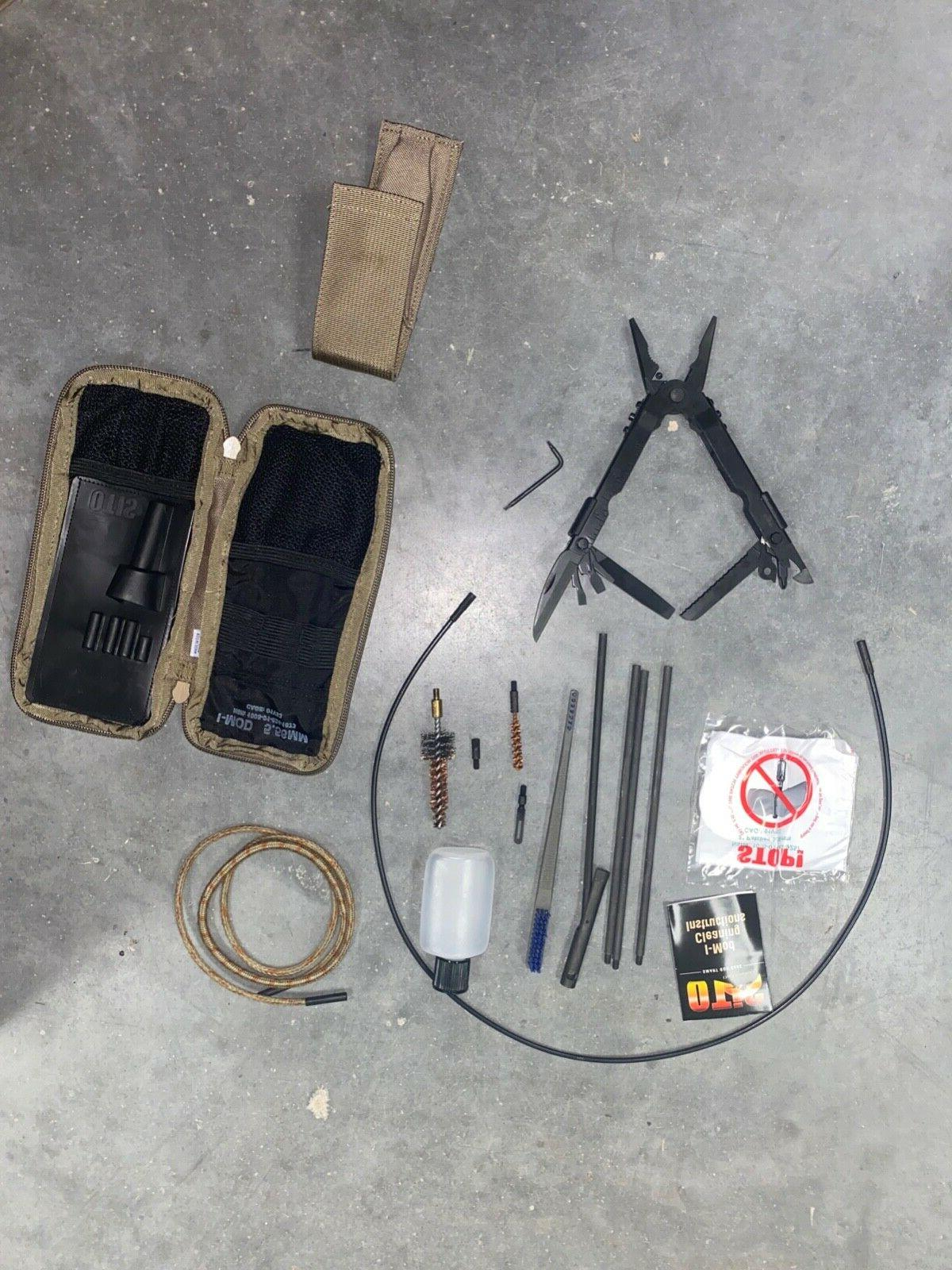 NEW Weapon Cleaning Coyote Pouch   I 5.56mm +multi-tool