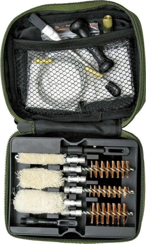 portable shotgun cleaning kit water resistant nylon