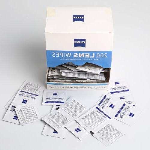 Zeiss Lens Wipes 200 Glasses