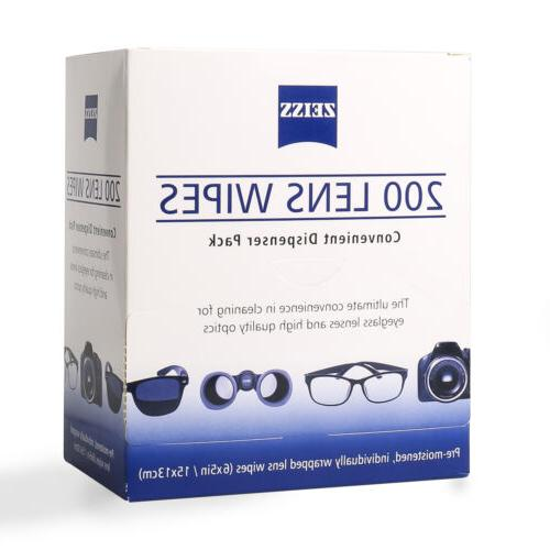 lens cleaning 200 wipes eye glasses computer