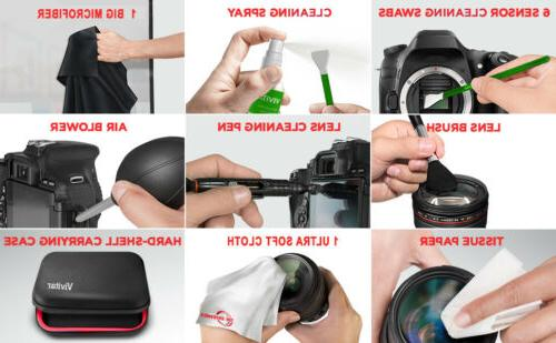 Vivitar Cleaning for Camera Swabs