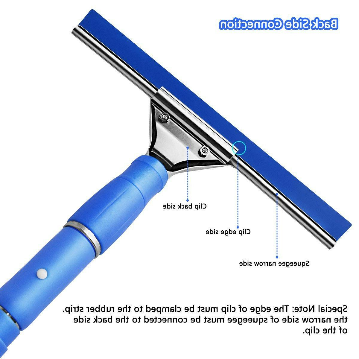 Professional Squeegee Kit, Pole