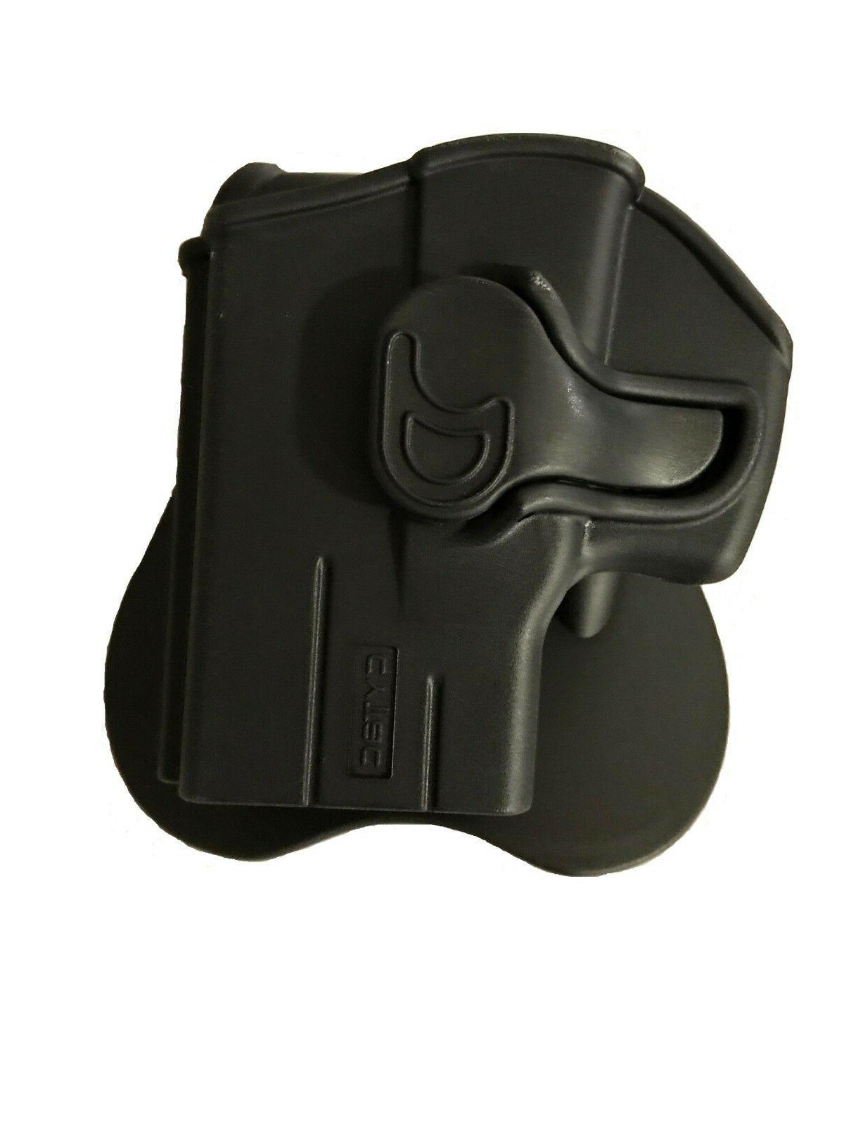 rapid release owb kydex paddle holster
