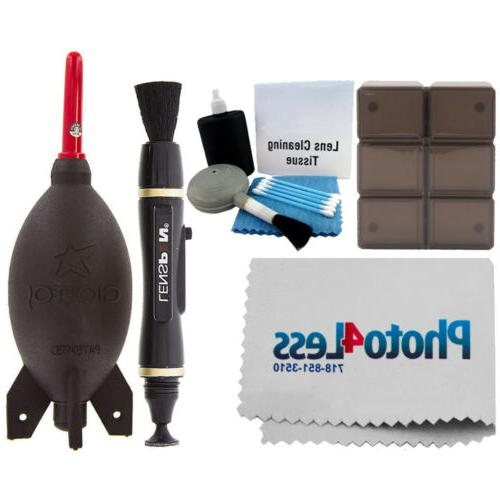 Giottos Rocket Blaster Dust-Removal Tool + 12 PC Memory Card