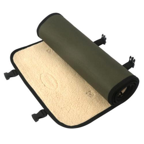 Tourbon Cleaning Mat Pad Clean Pocket Rollup Fleece USA