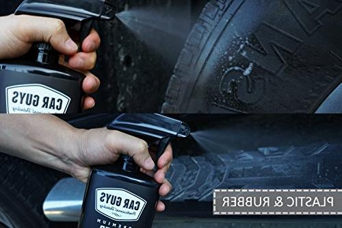 CarGuys Super Cleaner - Effective All Purpose Cleaner - Best Leather Vinyl Carpet Rubber and Much - oz