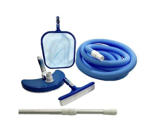 swimming pool cleaning kit maintenance above ground