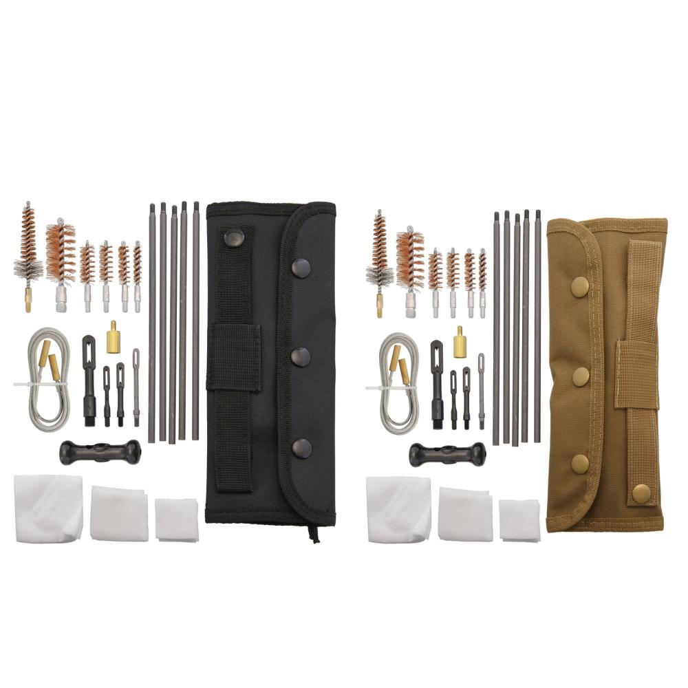 tactical competition field cleaning kit black nylon