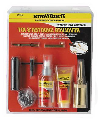 Traditions A5120 Sportsmans Revolver Kit Sportsman Kit 44 Ca