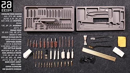Allen Cleaning Kit, by Allen Handgun, Rifle, Shotgun Cleaning Kit