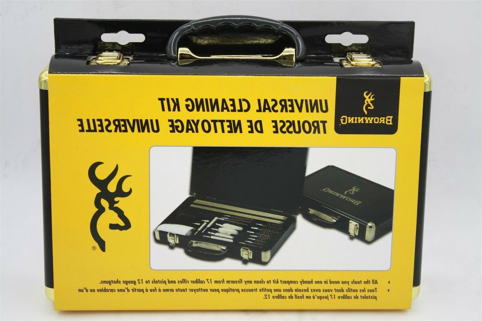 universal gun cleaning kit 35 piece