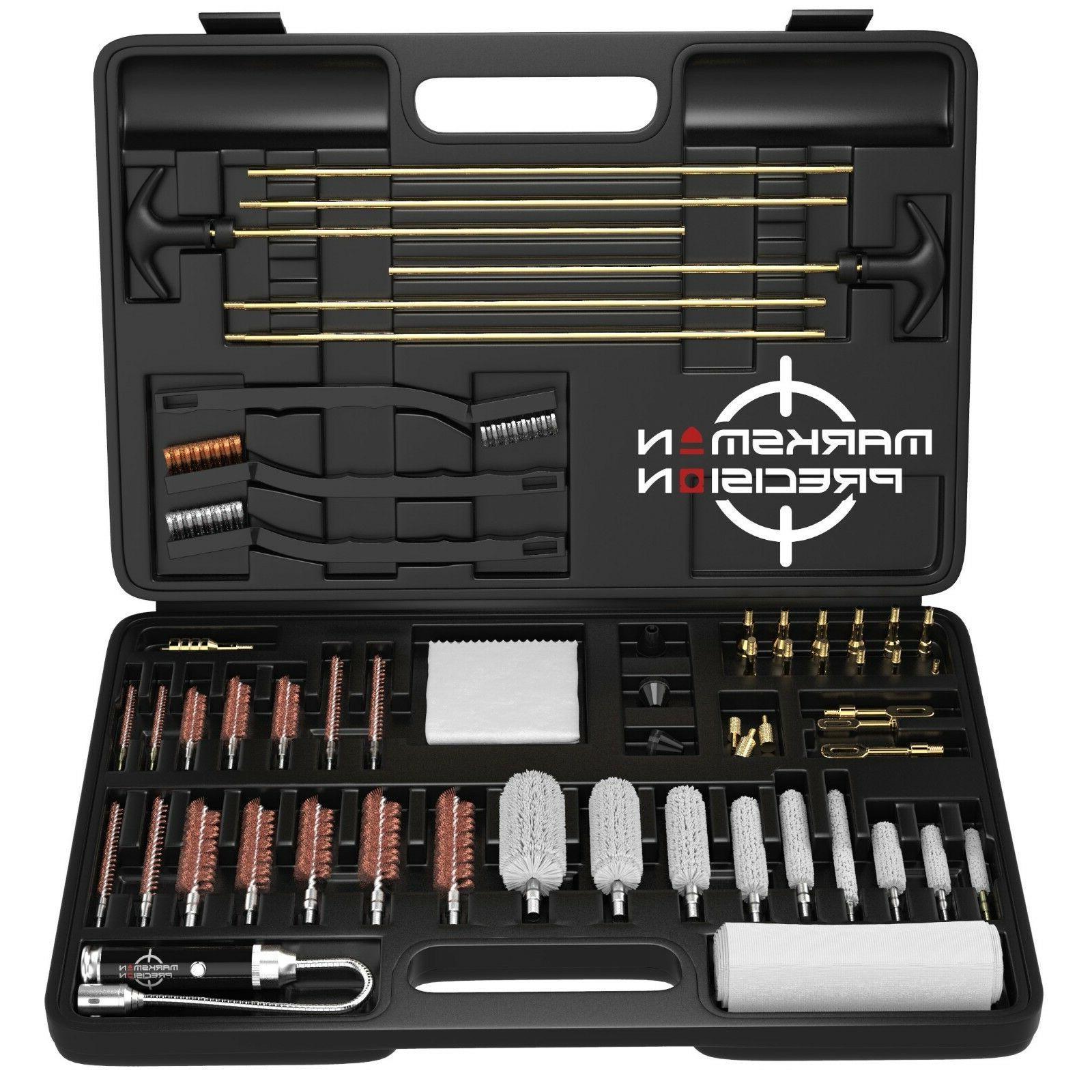 universal gun cleaning kit brass