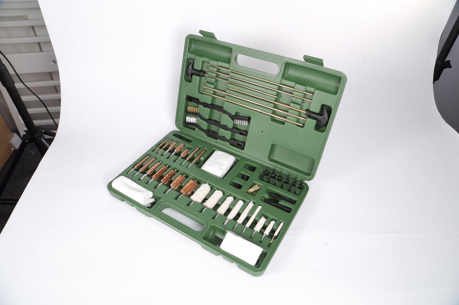 universal gun cleaning kit deluxe handgun pistol