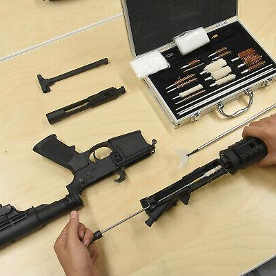 178pc Universal Cleaning Pistol Shotgun