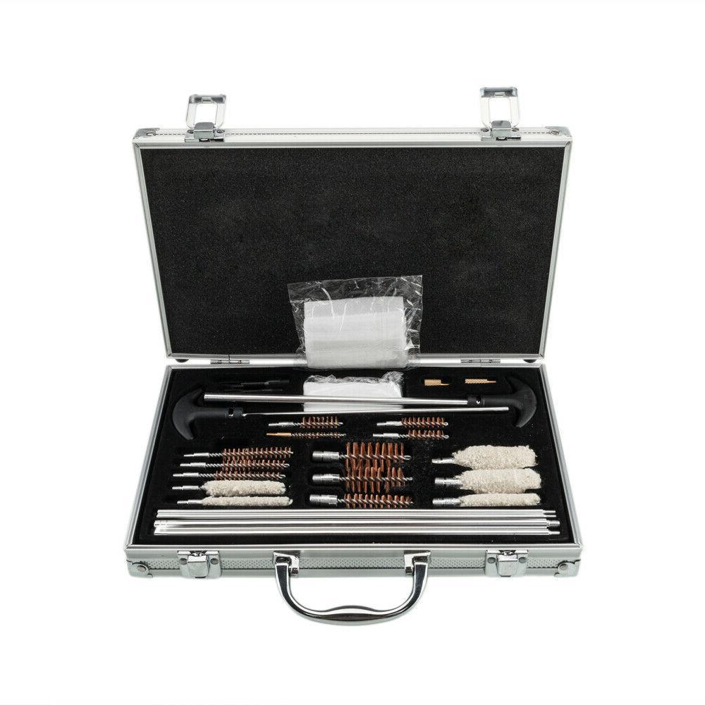 Gun & Rifle Cleaning Kit Pistol Set