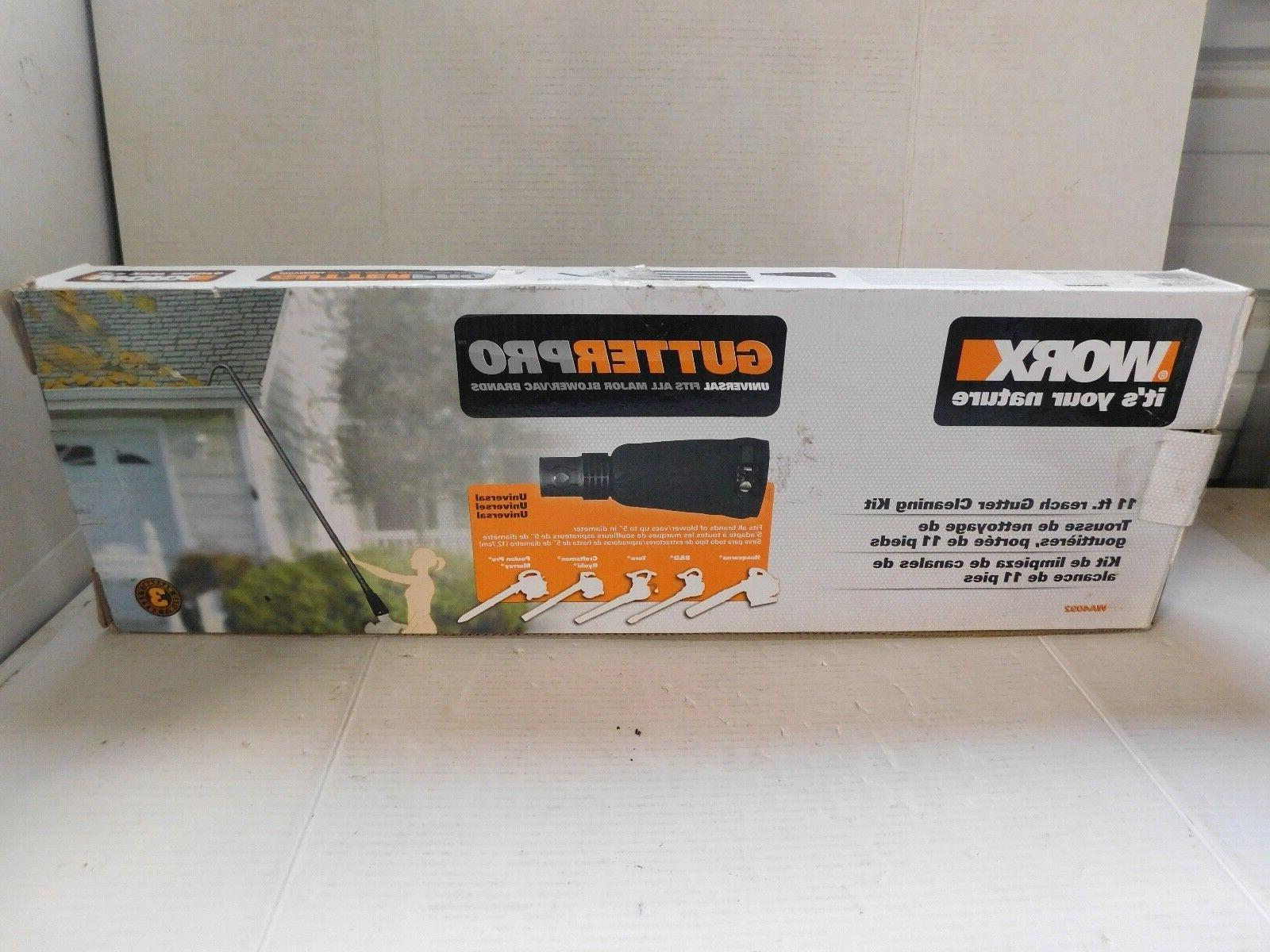 WORX Gutter Cleaning Kit Blowers