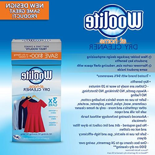 Woolite At Home Cleaner, Cloths