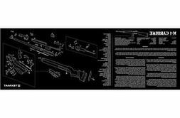 TekMat Long Gun Cleaning Mat with M1 Carbine Imprint, Black,