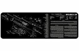 TekMat 12-Inch X 36-Inch Long Gun Cleaning Mat with M1 GARAN