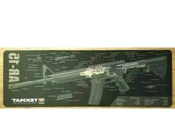 TekMat AR-15 Cleaning Mat/12 x 36 Thick, Durable, Waterproof