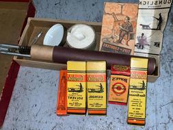 LOT OF 2 Vintage Shotgun Cleaning KITS Gunslick & Brite-bore