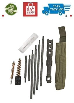M14 Buttstock Cleaning Kit with Steel Rod, Bore Brush, Combo