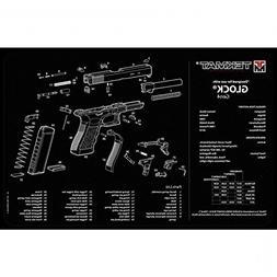 """TekMat Pack of 2 Mats - Glock Gen 4 Cleaning Mat 11"""" x 17"""""""