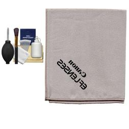 Canon Microfiber Cloth, Hurricane Blower, Brush, Fluid & Tis