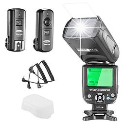Neewer NW-562 E-TTL Flash Speedlite Kit for Canon DSLR Camer