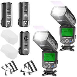 Neewer NW620 Manual Flash Speedlite Kit for Canon Nikon Olym