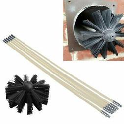 Nylon Brush Long Handle Flexible Pipe Rods For House Cleaner