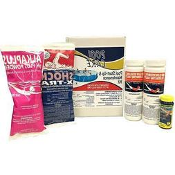 Pool Care 42003 Swimming Pool Chemical Cleaning Kit for up t