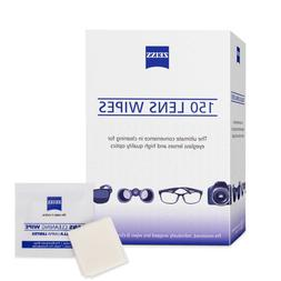 Zeiss Pre-Moistened Lens Cloths Wipes 150 Ct Glasses Camera