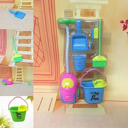 6pcs Kids Pretend Play House Cleaning Set Baby Home Cleaner