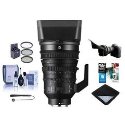 Sony PZ 18-110mm F4.0 G OSS E-Mount NEX Camera Lens - Bundle