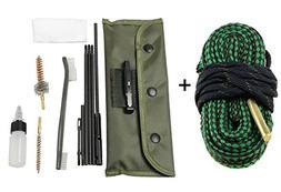 Aimee_JL Rifle Gun Bore Cleaning Kit Set Shotgun Cleaner Bru