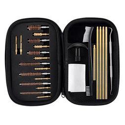 BOOSTEADY Rifle & Handgun Cleaning Kit .22.30.243.280.40.45.