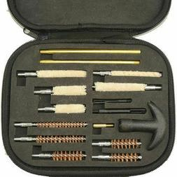 Rifle Pistol Cleaning Kit Carrying Case f/ Caliber Hand Guns
